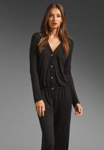 Long Sleeve Jumpsuit Black