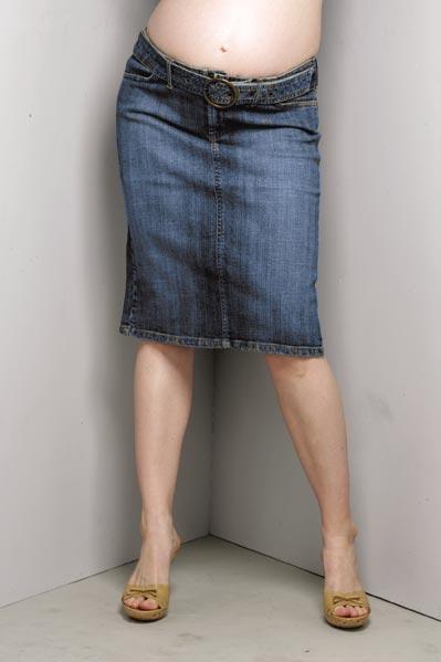 Maternity Jean Skirts - Dress Ala