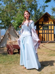 Medieval Corset Gown