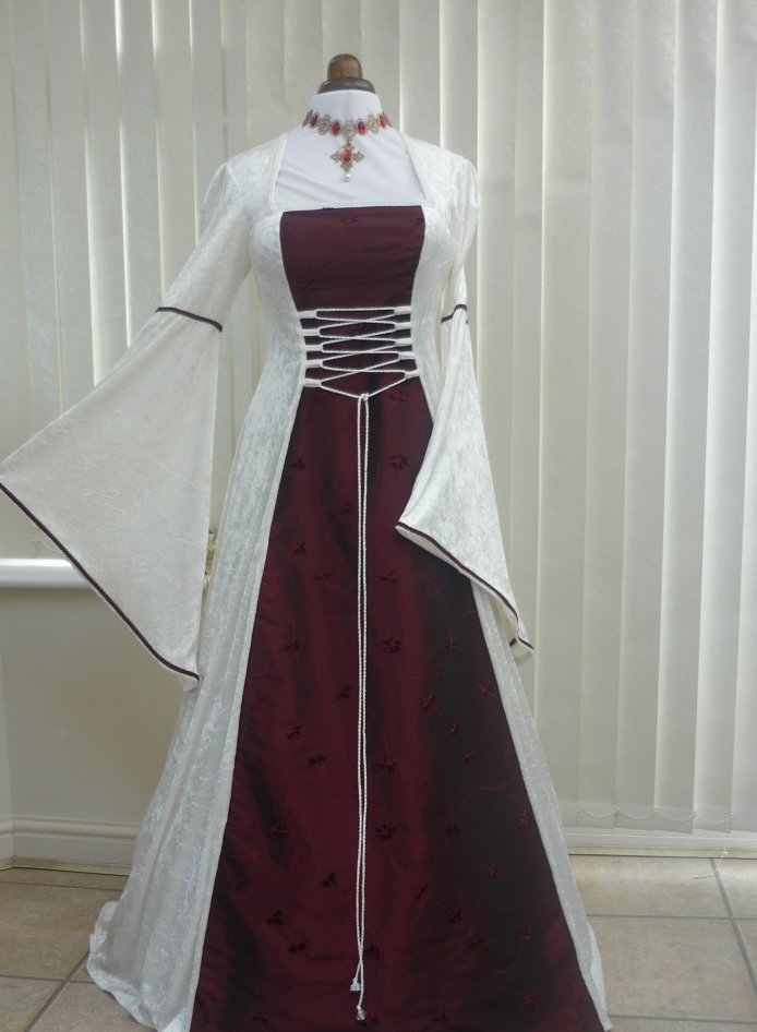 how to make medieval gown