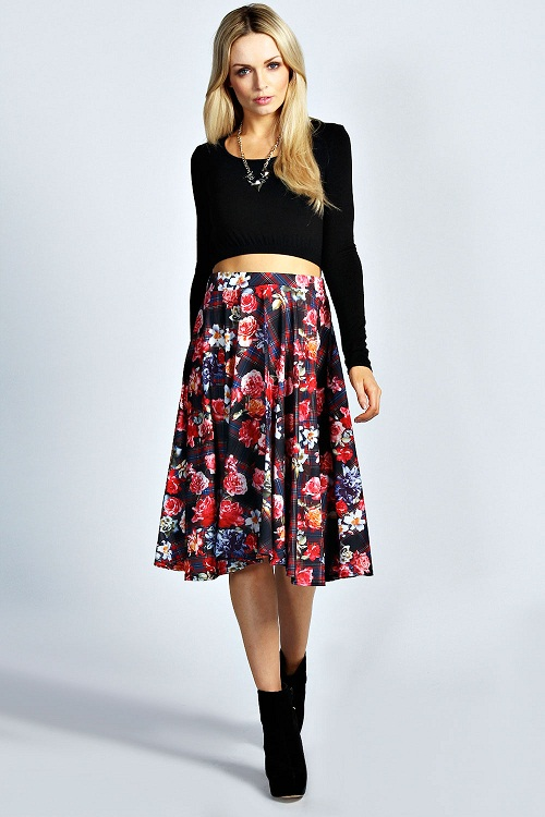 Floral Skirt | Dressed Up Girl