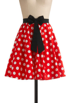 Minnie Mouse Skirt Dressedupgirl Com