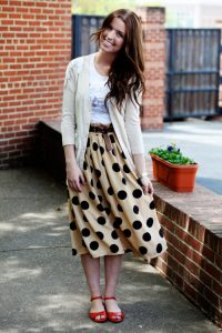 Modest Skirt Outfits