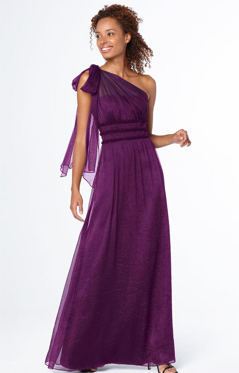 One Shoulder Gown   DressedUpGirl.com