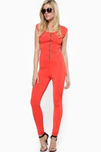 Orange Jumpsuit Women