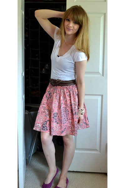 Floral skirt dressed up girl pink floral skirt mightylinksfo