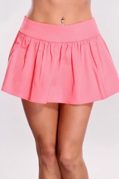 Mini Pink Skirt - Dress Ala