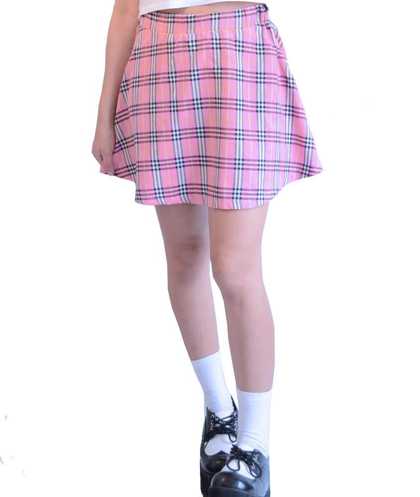 matches. ($ - $) Find great deals on the latest styles of Pink plaid skirts. Compare prices & save money on Women's Skirts.