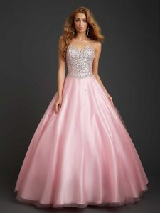 Pink Tulle Gowns
