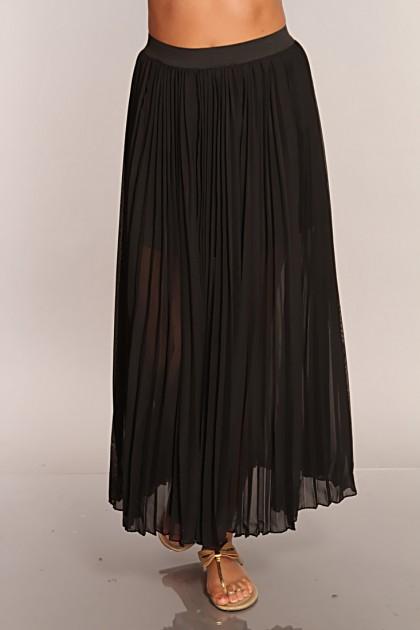 sheer skirt dressed up