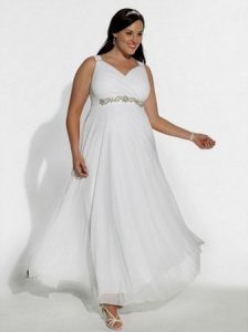 Plus Size Beach Bridal Gowns