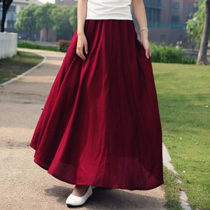Plus Size Bohemian Skirts