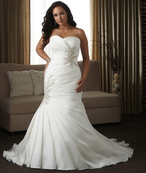 Plus Size Couture Gowns