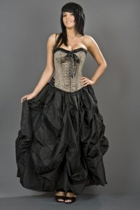 Plus Size Gothic Ball Gowns