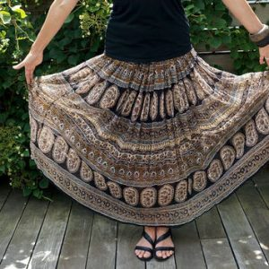 Plus Size Hippie Skirt