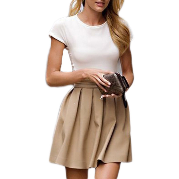 Khaki Skirt | Dressed Up Girl