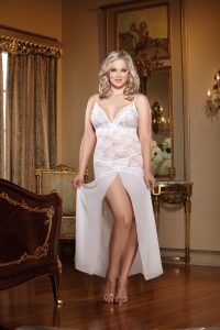Plus Size Lingerie Gown