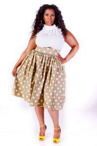 Plus Size Vintage Skirts