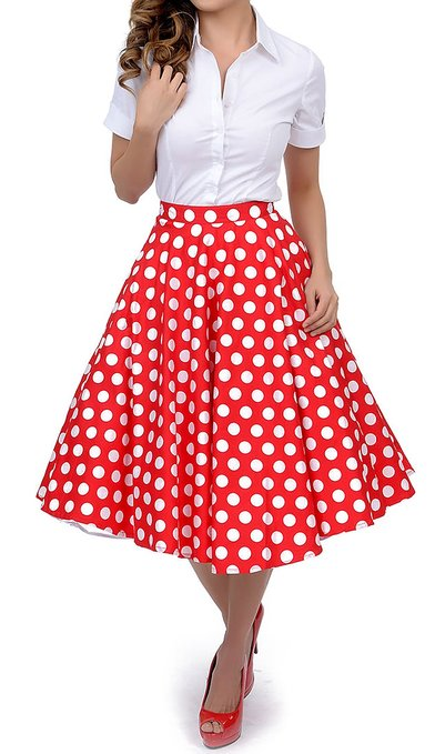 Polka Dot Skirt | Dressed Up Girl