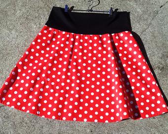 0c1d2c91cfa98 Polka Dotted Skirt