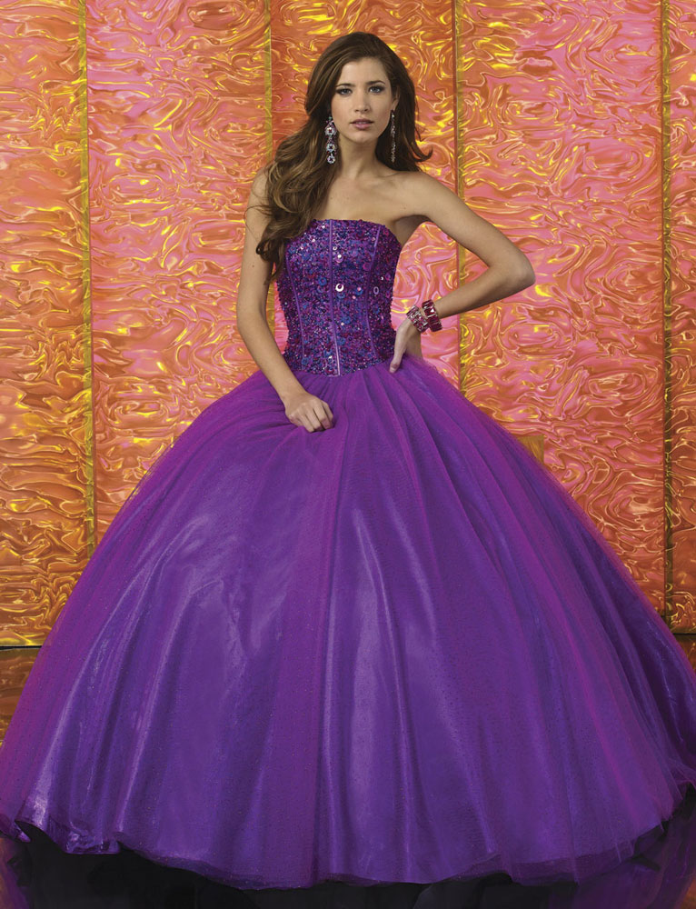 Purple Gown | Dressed Up Girl