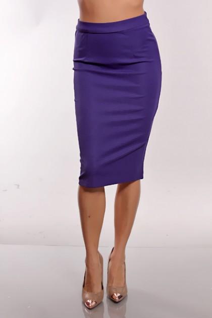 1c7b6ce5660 Purple Pencil Skirt