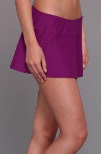 Purple Swim Skirt