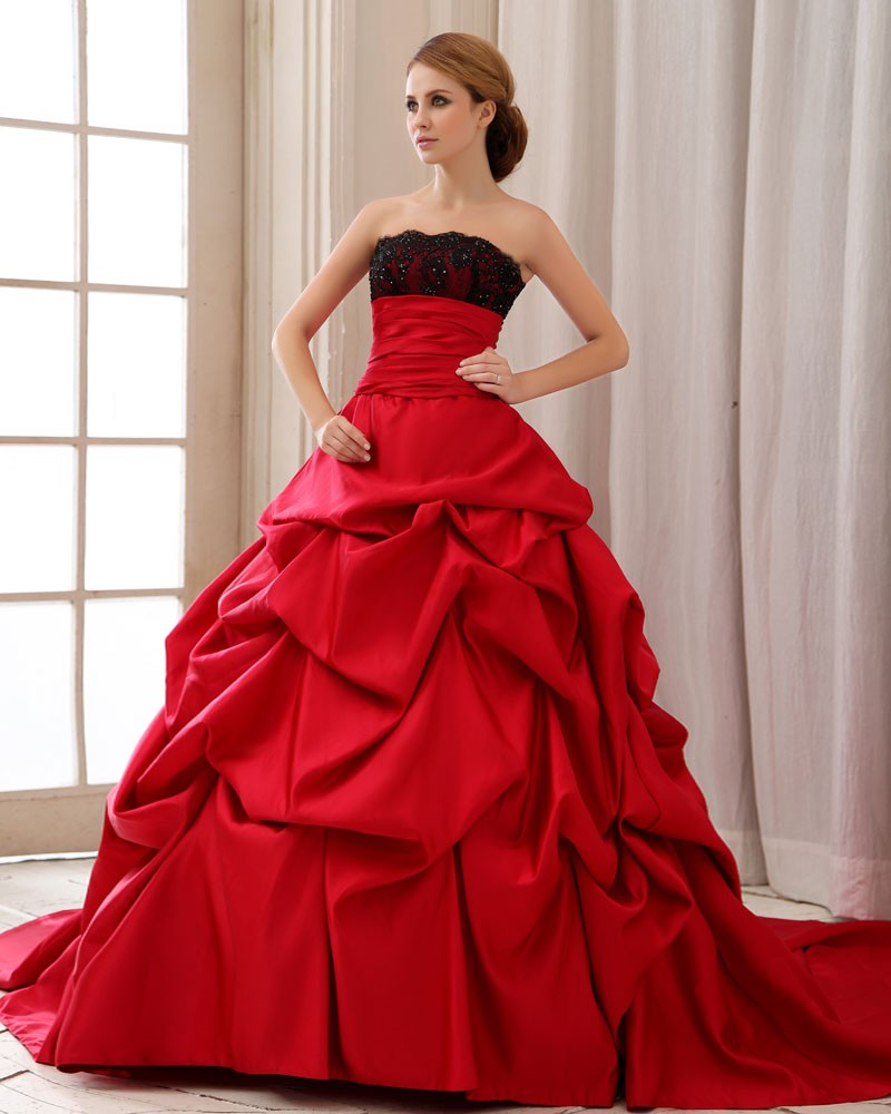 Red Bridal Gowns | Dressed Up Girl