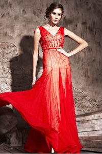 Red Couture Gown