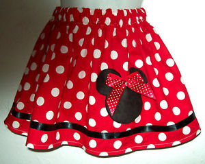 Minnie Mouse Skirt | Dressed Up Girl