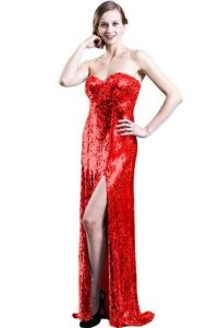 Red Sequin Gown Pictures