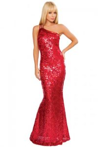 Red Sequin Gowns
