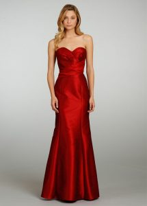 Red Trumpet Gown