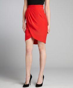 Red Tulip Skirt