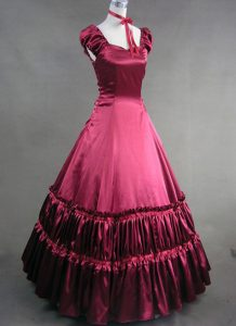 Red Victorian Gown