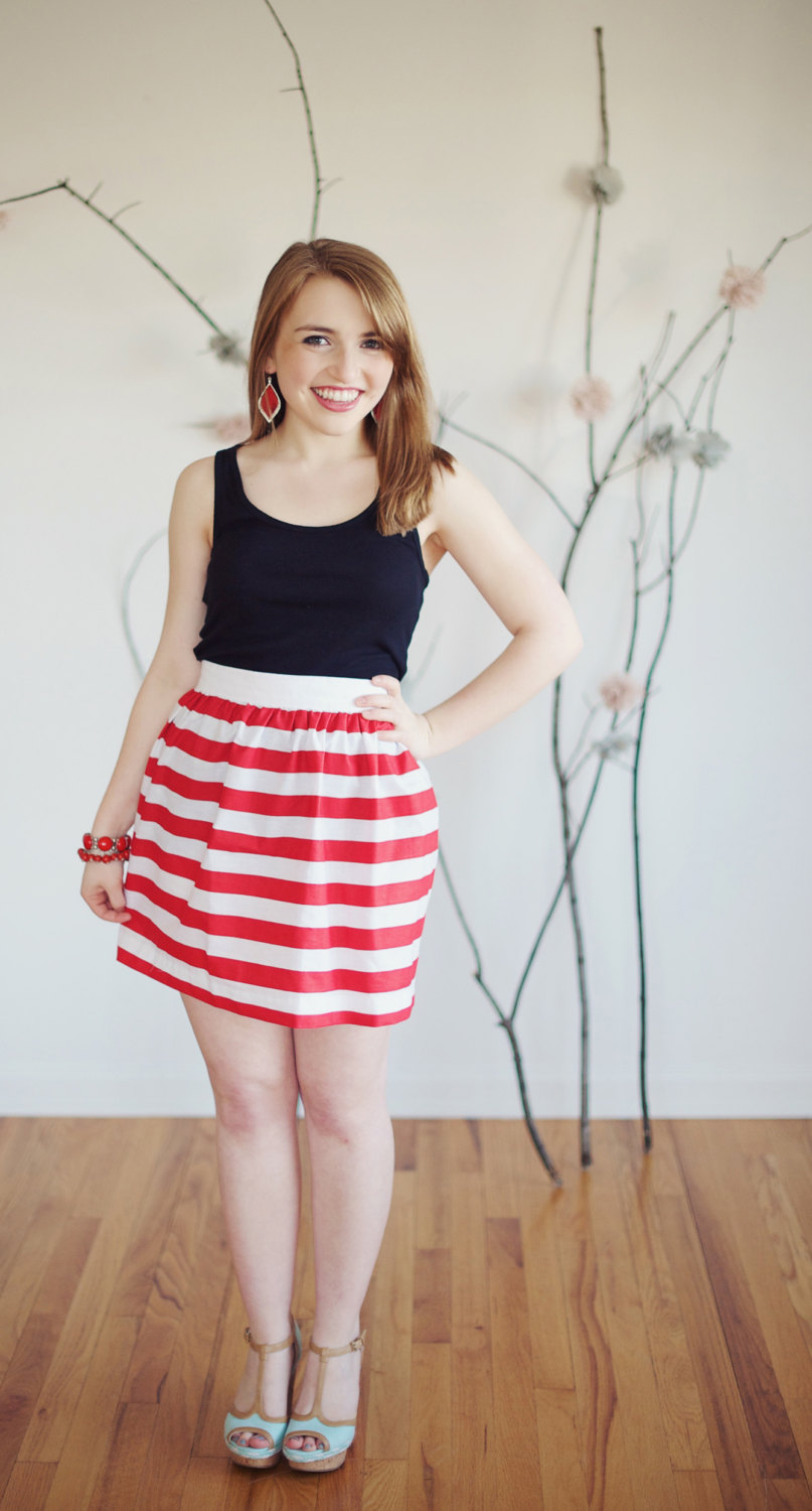 Striped Skirt | Dressed Up Girl