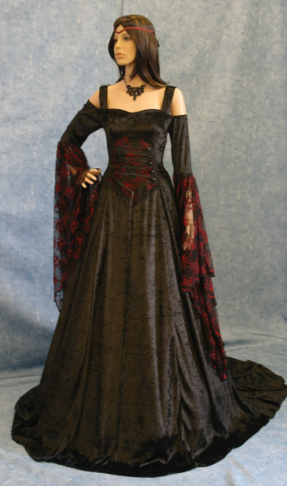 Renaissance Gowns Dressed Up Girl