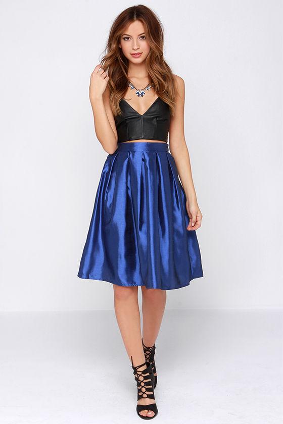 Blue Skirt Dressedupgirl Com