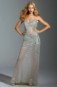 Sheer Evening Gown