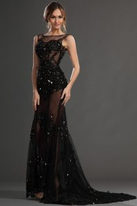 Sheer Evening Gowns
