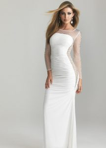 Sheer Gown