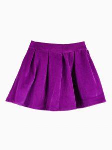 Short Purple Skirt