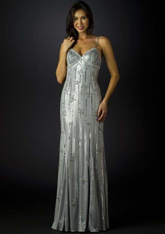 Silver Gowns Dressedupgirl Com