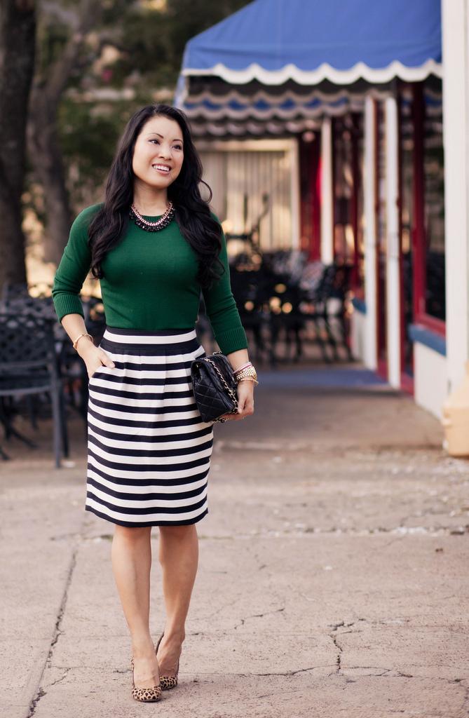 Striped Skirt | Dressed Up Girl