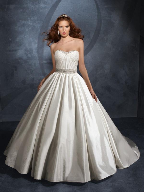 Taffeta Gown Dressed Up Girl