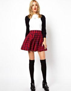 Tartan Skater Skirt