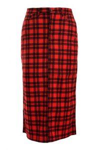 Tartan Skirt Maxi