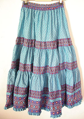 Tiered Skirt Dressed Up Girl