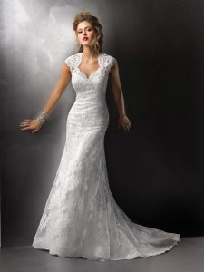 Trumpet Wedding Gown
