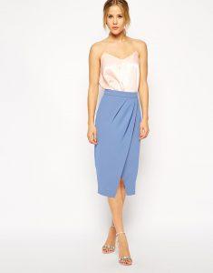 Tulip Pencil Skirt